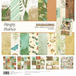 "Simple Stories - Kit carte 12x12"" - Simple Vintage Great Escape"