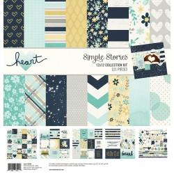 "Simple Stories - Kit carte 12x12""- Heart"