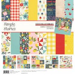 "Simple Stories - Kit carte 12x12"" - Summer Farmhouse"
