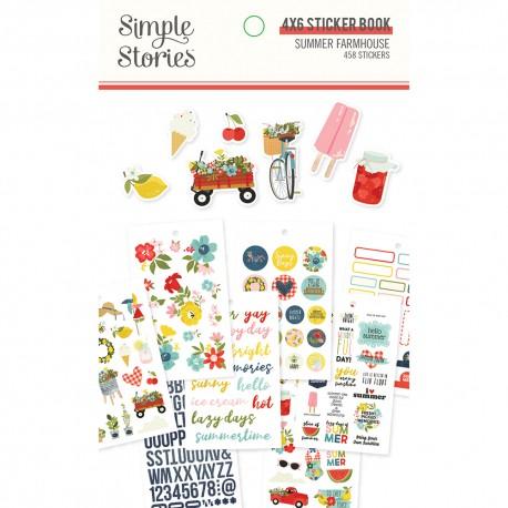 Simple Stories - Stickers Book 10,3x17 cm - Summer Farmhouse