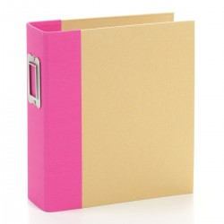 "Simple Stories - Snap Binder 6x8"" - Pink"