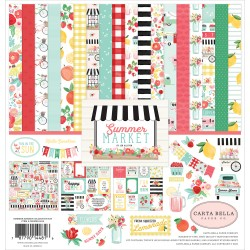 "Carta Bella - Kit Carte 12x12"" -  Summer Market"