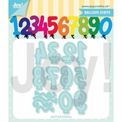 Joy Crafts - Fustella - Balloon Digits