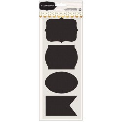 Jen Hadfield -  Chalkboard Stickers - Nero