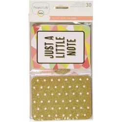 """Project Life - Kit Carte 4x3"""" - Noted"""