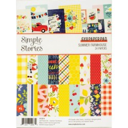 "Simple Stories - Pad carte 6x8"" - Summer Farmhouse"