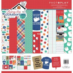 "PhotoPlay- Kit Carte 12x12"" -  Living the Quarantine Life"