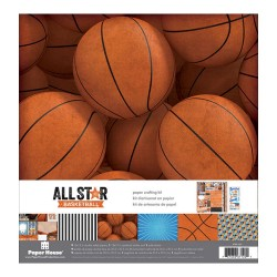 "Paper House- Kit Carte 12x12"" -  All Star BasketBall"