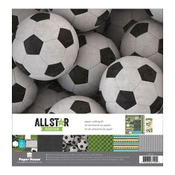 """Paper House- Kit Carte 12x12"""" -  All Star Soccer"""