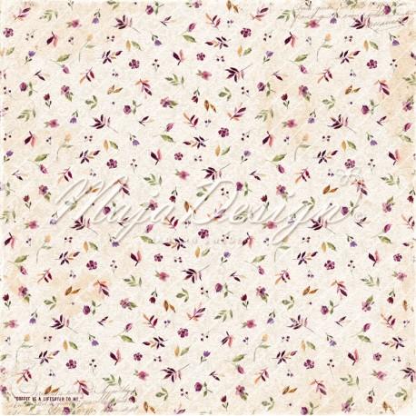 """Maja Design - Carta 12x12"""" - Little Street Cafe - Joyful"""
