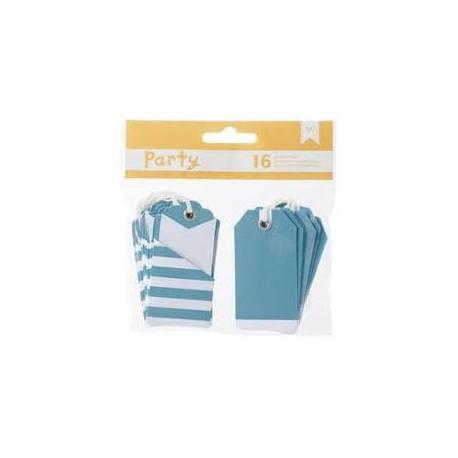 American Craft - Kit tags - Blue