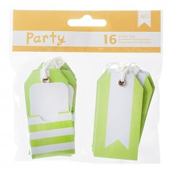 American Craft - Kit tags - Green