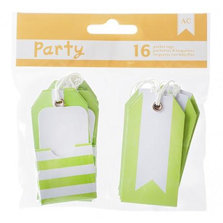 American Craft - Kit tags - Green