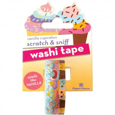 PaperHouse - Washi Tape Profumato - Vanilla CupCakes