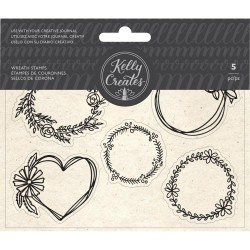 kelly Creates - Timbri Clear - Wreaths