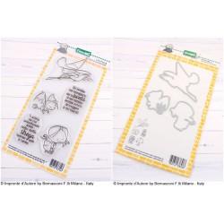 Bundle Fustelle e Timbri coordinati Impronte d'Autore - La bontà di una bambina
