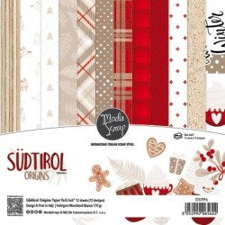 "ModaScrap- Kit Carte 6x6"" Sudtirol Origins"