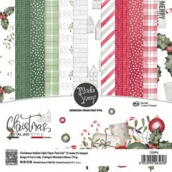 "ModaScrap- Kit Carte 6x6"" Christmas Italian Style"