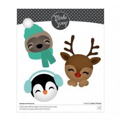 ModaScrap - Fustella - Santa's Friends