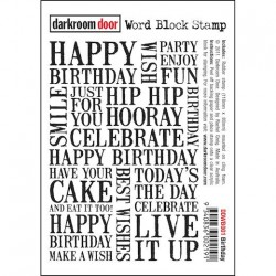 Darkroom Door - Timbri Non Montati - Birthday