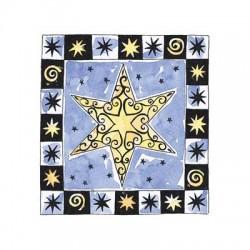 Penny Black - Timbro in legno - Xmas Star