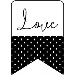Artemio - Timbro in legno - Banner amore