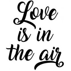 Artemio - Timbro in legno - Love in the Air