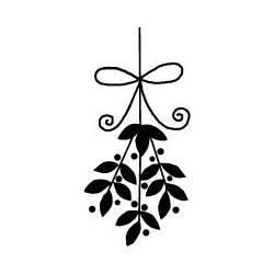 Artemio - Timbro in legno - Bouquet de fleurs