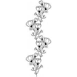 Artemio - Timbro in legno - Fiore
