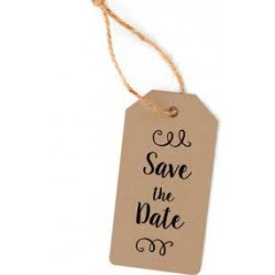 Heyda - Timbri Clear - Save the Date