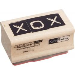 Hampton Art - Timbro legno - XOX