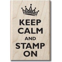 Hampton Art - Timbro legno - Keep Calm