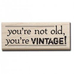 Hampton Art  - Timbro legno - Vintage