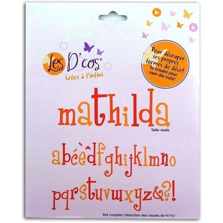Toga - Fustella - Alphabet Mathilda