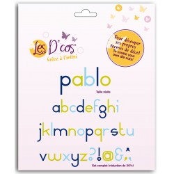 Toga - Fustella - Alphabet Pablo