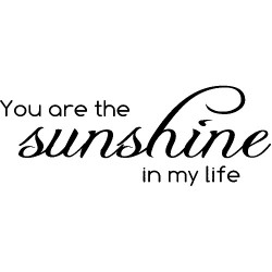 Magenta - Timbri Cling - You are my sunshine