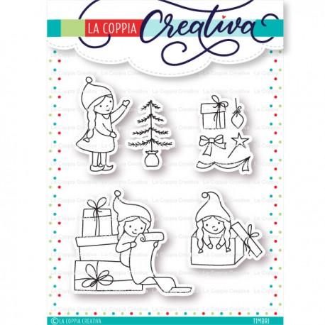 Coppia Creativa - Timbri Clear - Gnomette