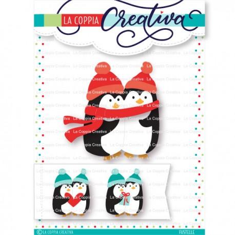 La Coppia Creativa - Fustella - Pinguini