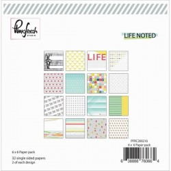 PinkFresh - Paper Pad 6x6 - Life Noted