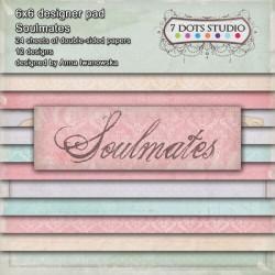 7 Dots Studio -  Paper Pad 6x6 - Soulmates