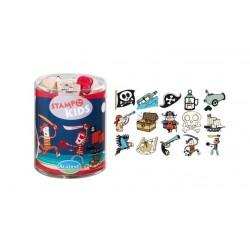 Aladine - Kit Timbro legno - Pirates