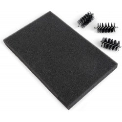 Sizzix - Replacement Die Brush Heads & Foam Pad