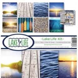"""Reminisce  - Kit Carte 12x12"""" - Lake Life"""