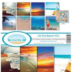"Reminisce  - Kit Carte 12x12"" - At the Beach"