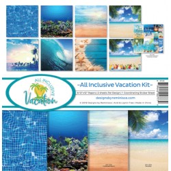 "Reminisce  - Kit Carte 12x12"" - All Inclusive Vacation"