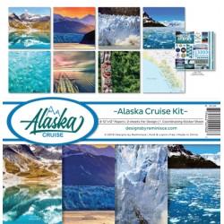 "Reminisce  - Kit Carte 12x12"" - Alaska Cruise"