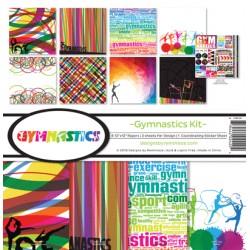 "Reminisce  - Kit Carte 12x12"" - Gymnastics"