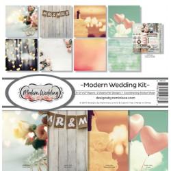 "Reminisce  - Kit Carte 12x12"" - Modern Wedding"