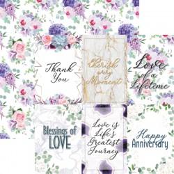 "Reminisce  - Kit Carte 12x12"" - Anniversary Blessings"
