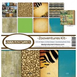 "Reminisce  - Kit Carte 12x12"" - Zooventures"